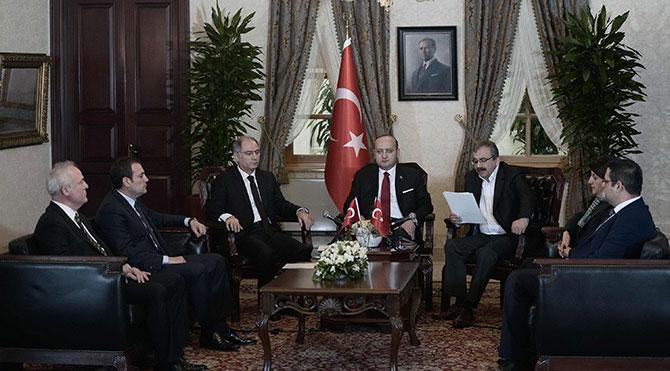 Dolmabahçe'de çözüm süreci açıklaması