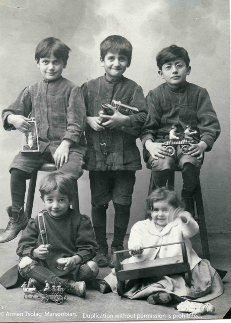 Tsolags Five Children