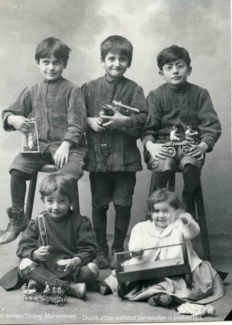 Tsolags Five Children