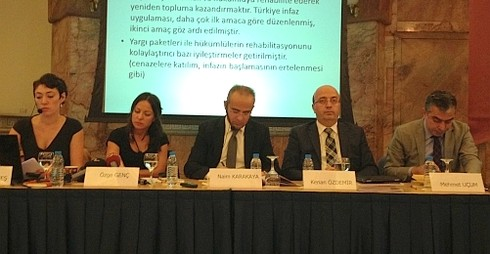 """TESEV, Mart 2011'den Nisan 2013'e kadar yargı alanında düzenleme getiren yargı paketlerini inceleyerek """"Yargı paketleri: Hak ve özgürlükler açısından bir değerlendirme"""" raporunu açıkladı."""