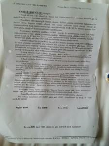 Duruşma tutanağı karar sayfası