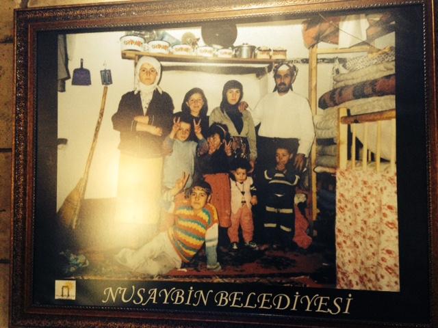 Nusaybin Belediyesi'nin yanan ev ile ilgili müzesinden