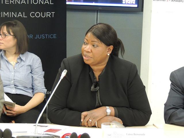 UCM Savcısı Fatou Bensouda. Fotoğraf: UCM Koalisyonu