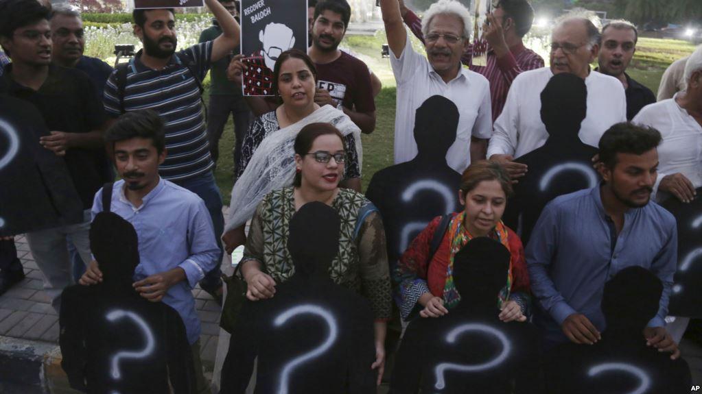 Pakistanlı insan hakları savunucuları Zorla Kaybettirme Mağdurları Uluslararası Günü'nde Peşawar'da yeniden bir araya geldi.